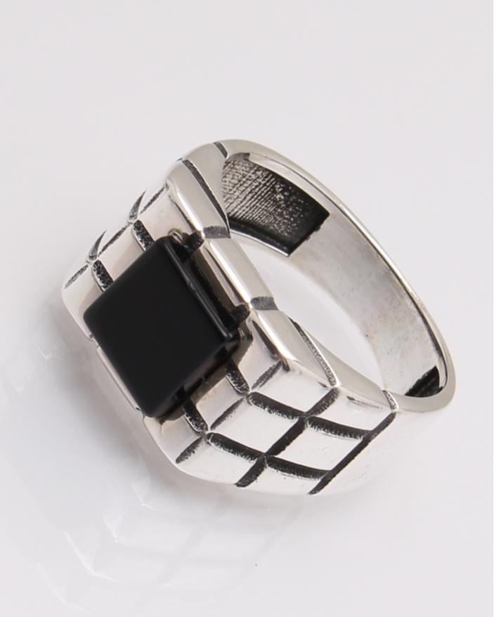 Inel argint onix cod 1-31825, gr5.9