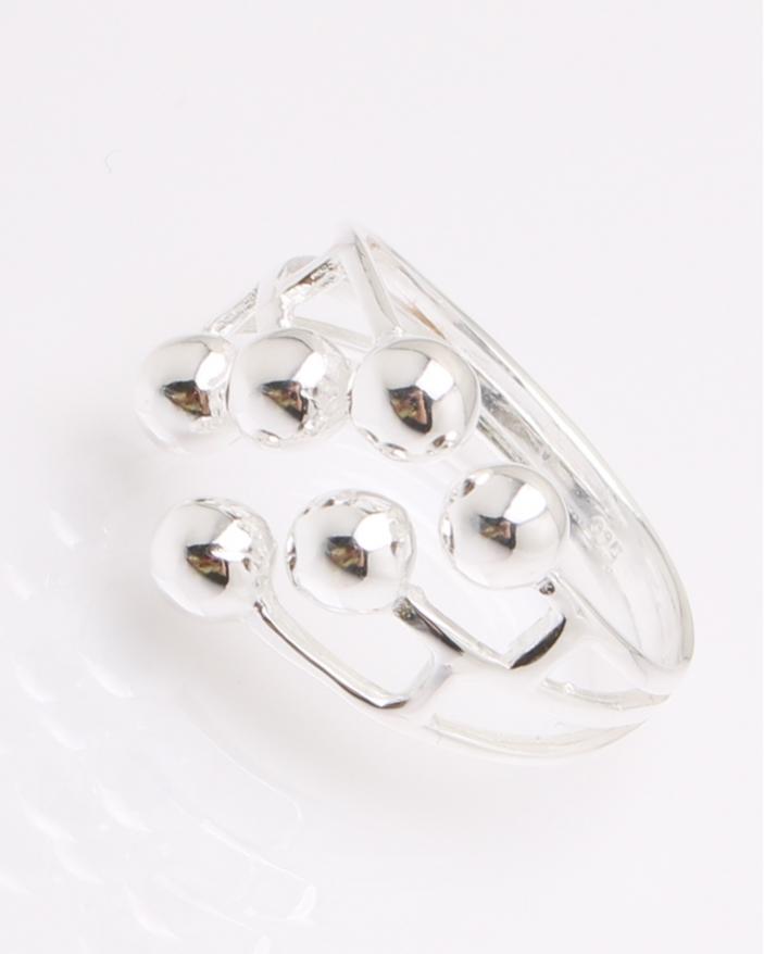Inel argint cu bilute cod 1-32635, gr5