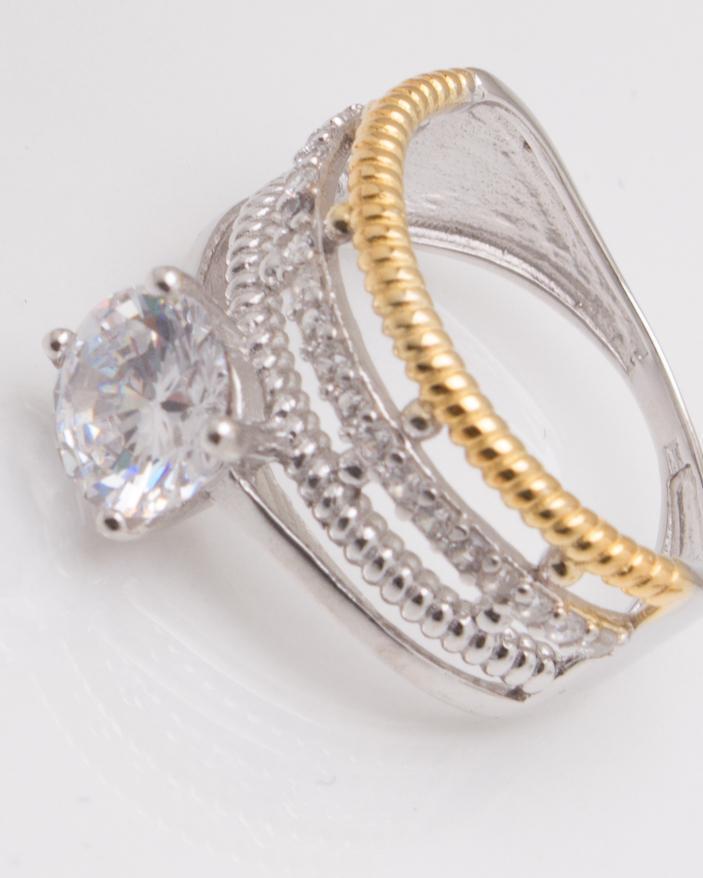 Inel argint cod 1-3591, gr3.5
