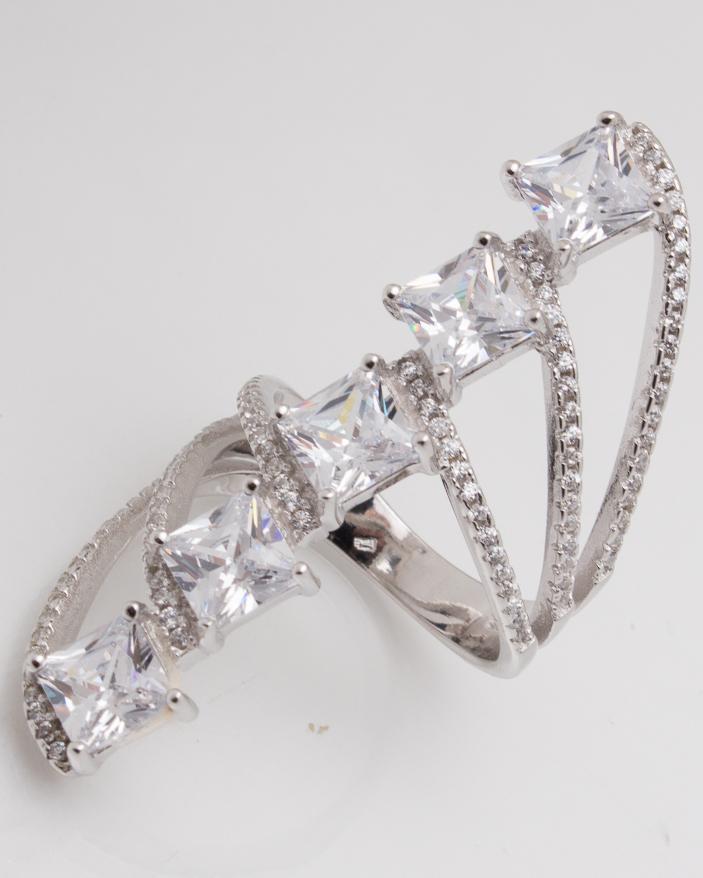 Inel argint cod 1-5374, gr7.5