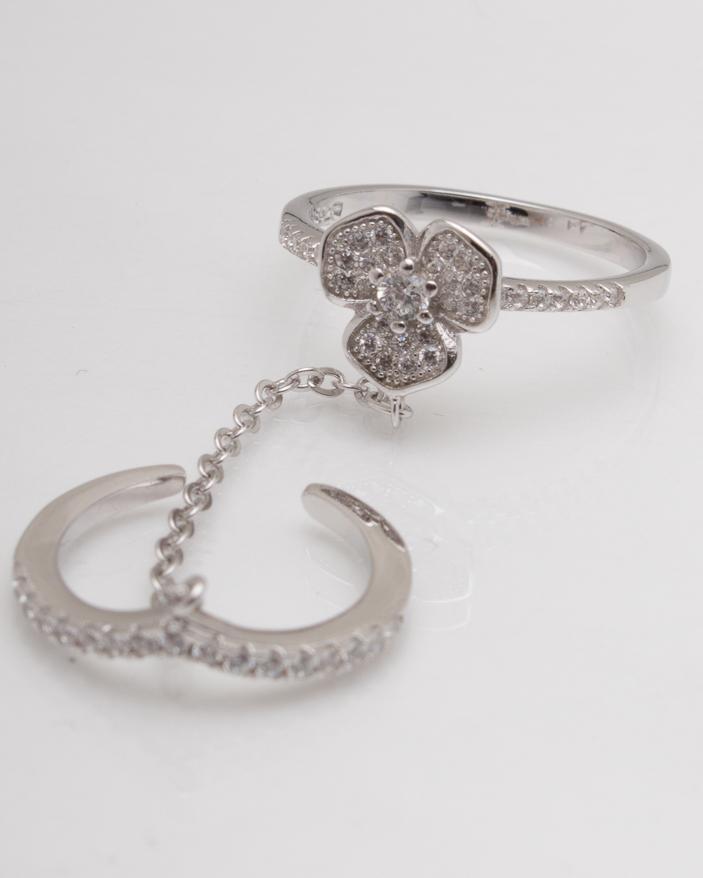 Inel argint cod 1-6186, gr3.2