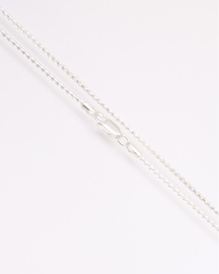 Colier argint 45 cm cod 4-31357, gr3.8