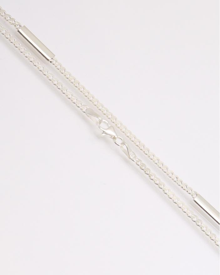 Colier argint cu placute cod 4-31856, gr13.4