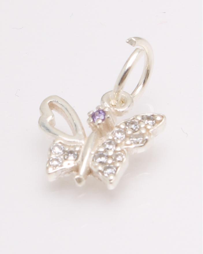 Pandantiv argint fluture cod 6-27070. gr0.7