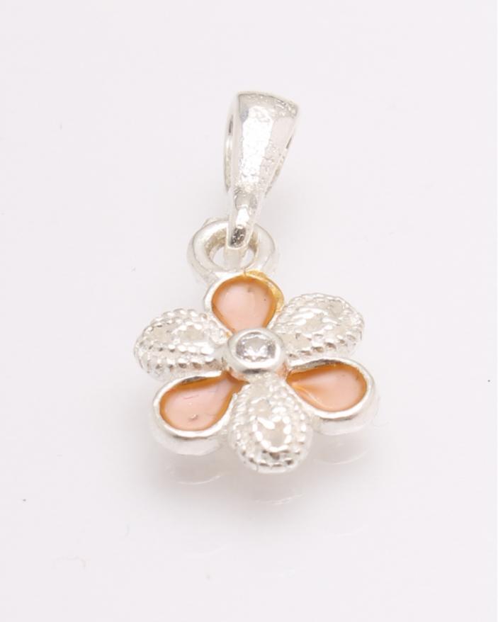 Pandantiv argint floare cod 6-27081. gr0.8