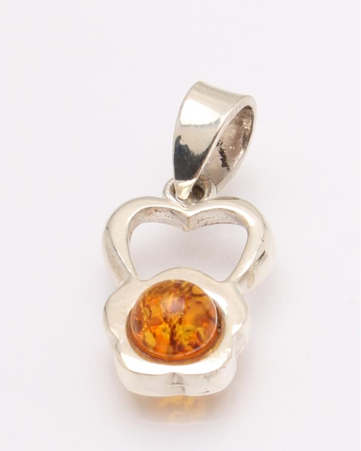 Pandantiv argint chihlimbar cod 6-31656. gr2.5