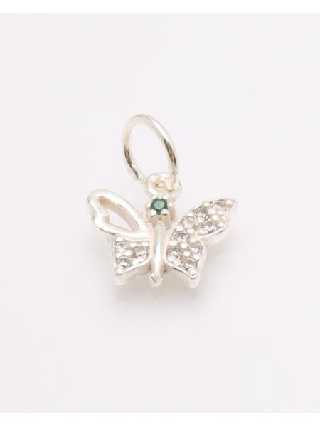Pandantiv argint fluture cod 6-32773. gr0.8