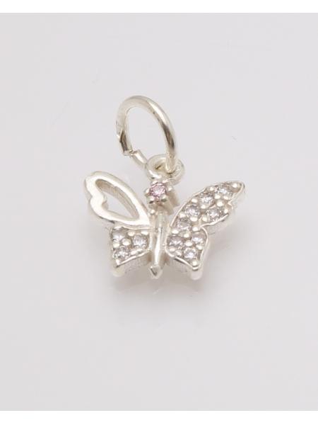 Pandantiv argint fluture cod 6-32774. gr0.8