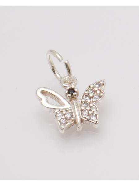 Pandantiv argint fluture cod 6-32775. gr0.8