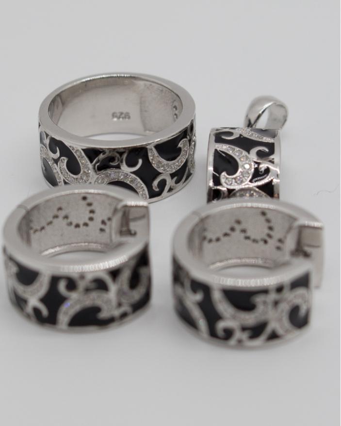 Set argint cod 3-10640, gr18.6