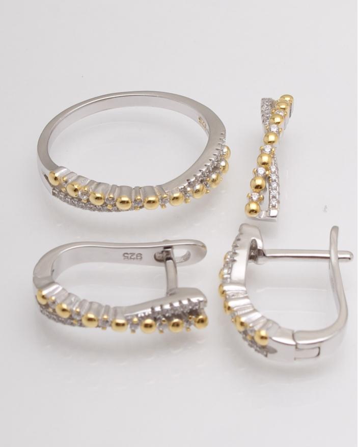 Set argint cod 3-12979, gr7.5
