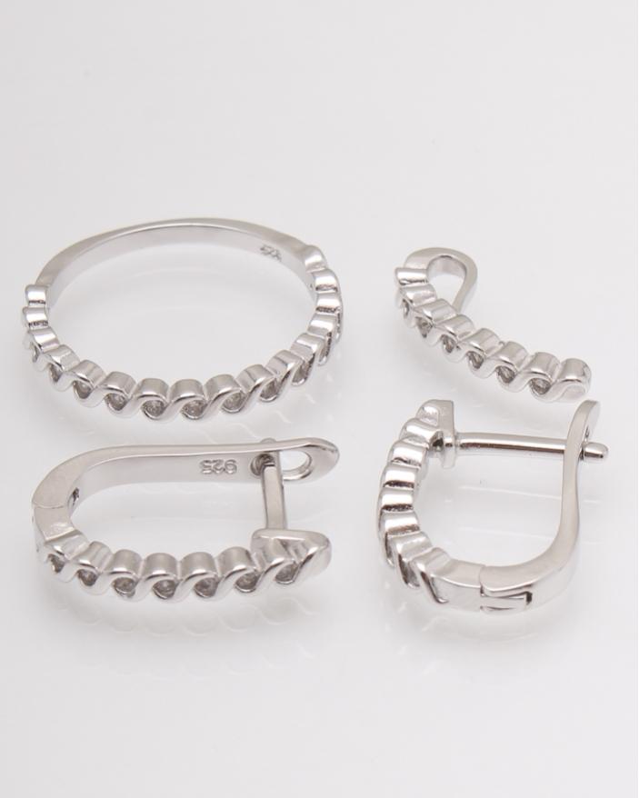 Set argint cod 3-13107, gr5.5
