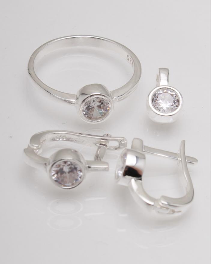 Set argint cod 3-13620, gr6.5