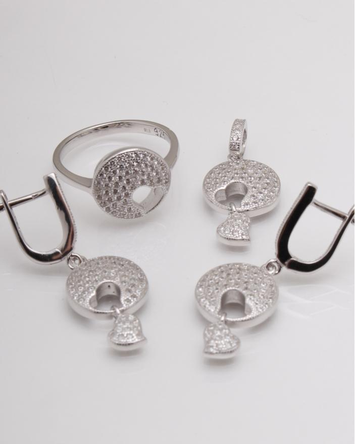 Set argint cod 3-14589, gr12.7