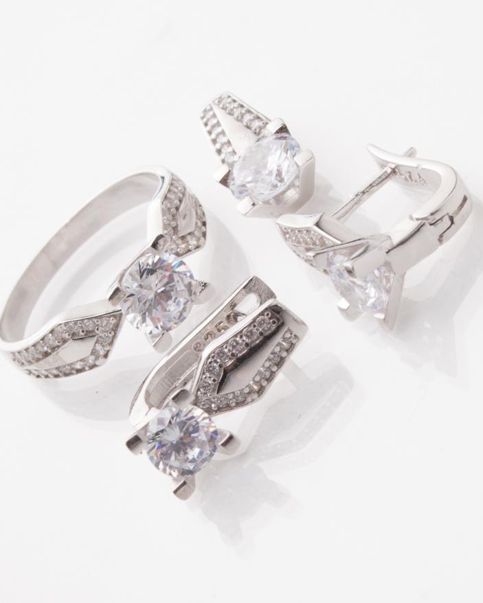 Set argint cod 3-1383, gr8.5