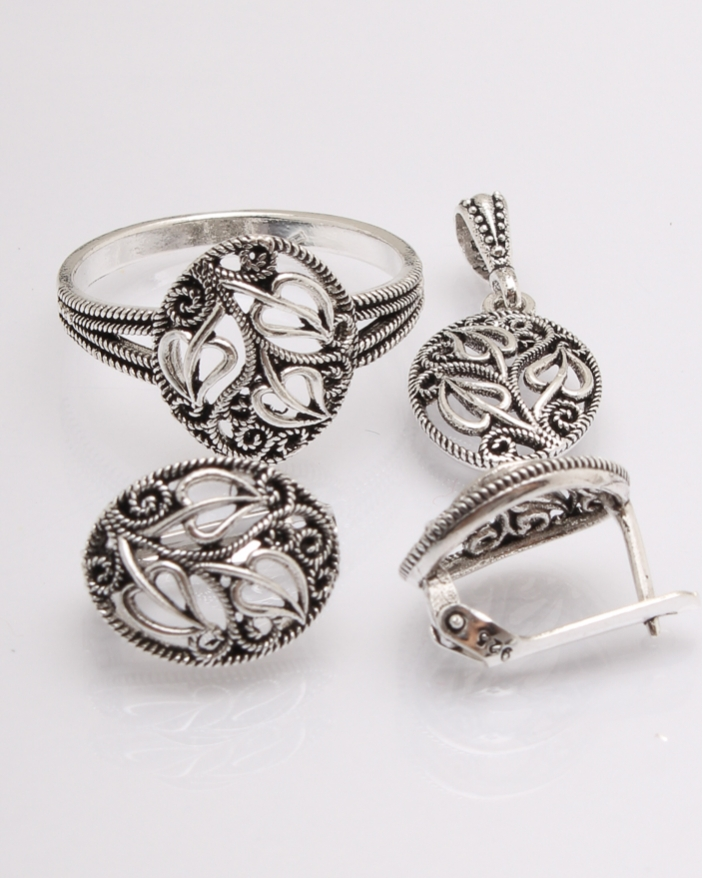 Set argint cod 3-19594, gr6.5