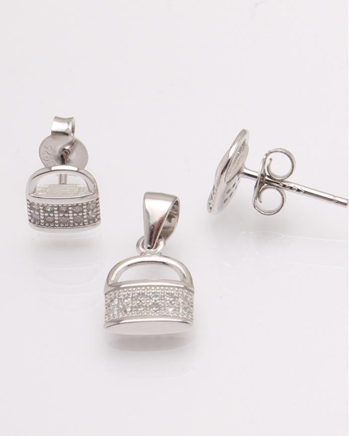 Set argint lacatel cod 3-30829, gr2.3
