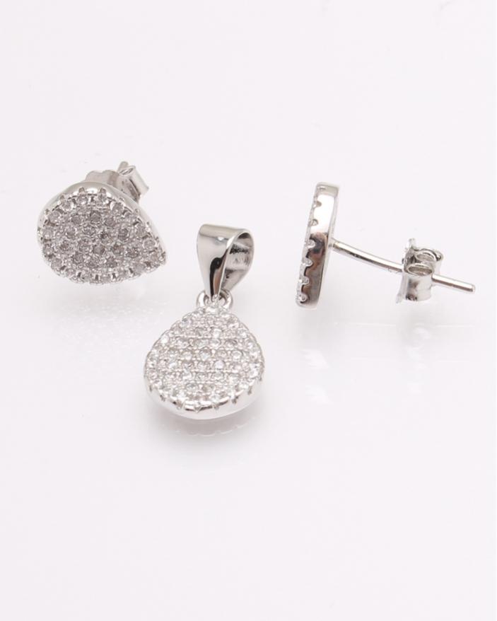 Set argint lacrima cod 3-30832, gr2.7