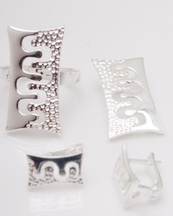 Set argint cod 3-3816, gr10.6