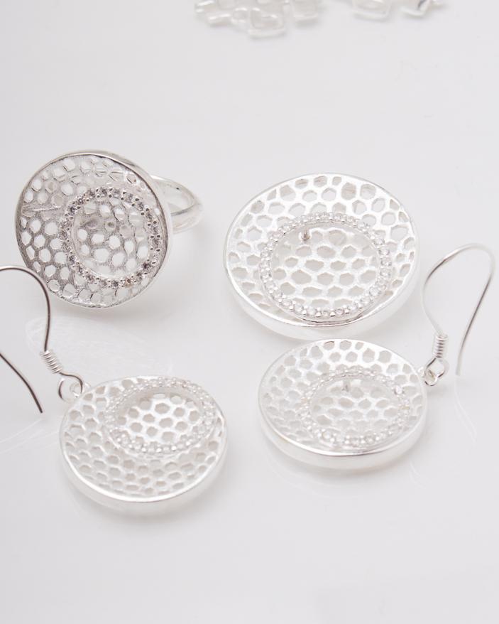 Set argint cod 3-3818, gr17.7