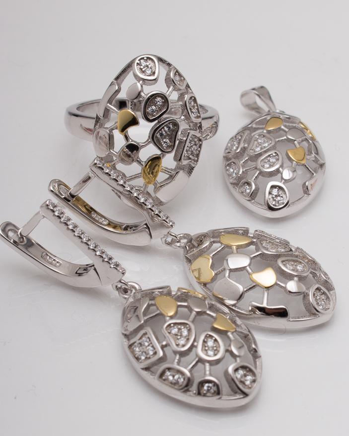 Set argint cod 3-6011, gr19.3