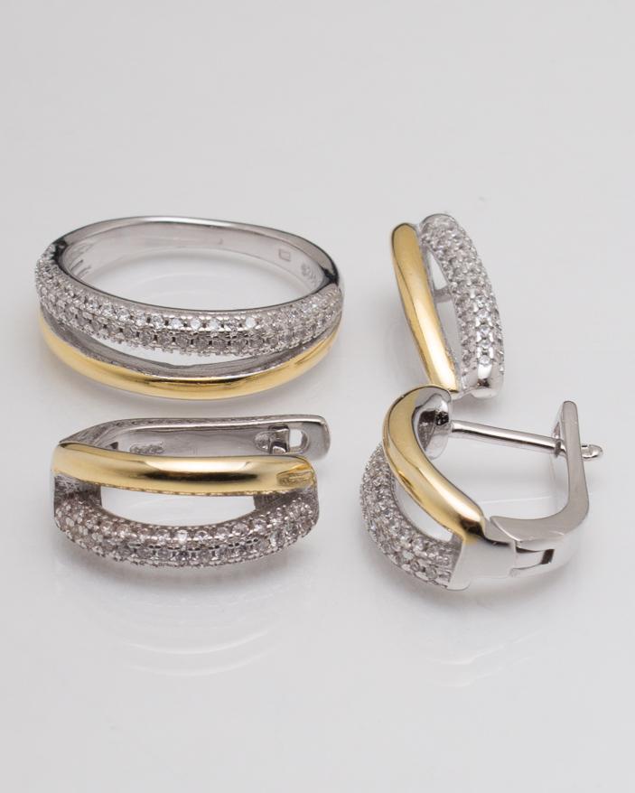 Set argint cod 3-6081, gr9.9