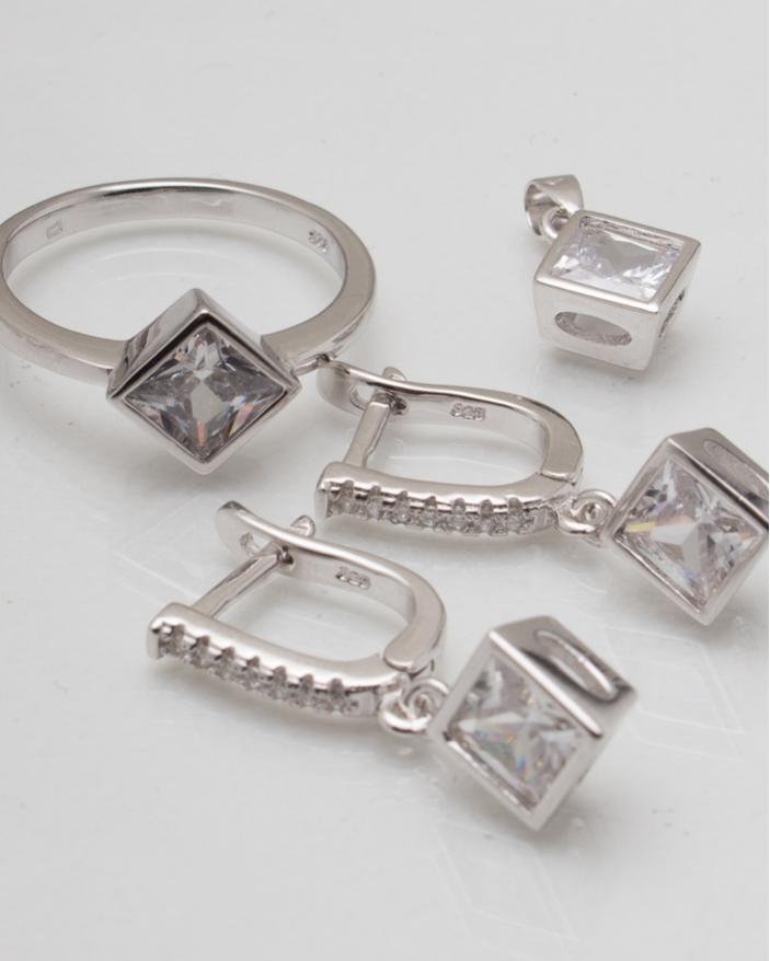 Set argint cod 3-7489, gr8.6