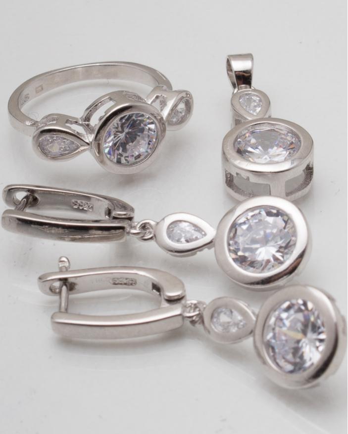 Set argint cod 3-8079, gr10.8