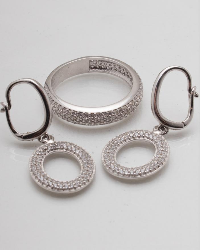 Set argint cod 3-8147, gr6.5