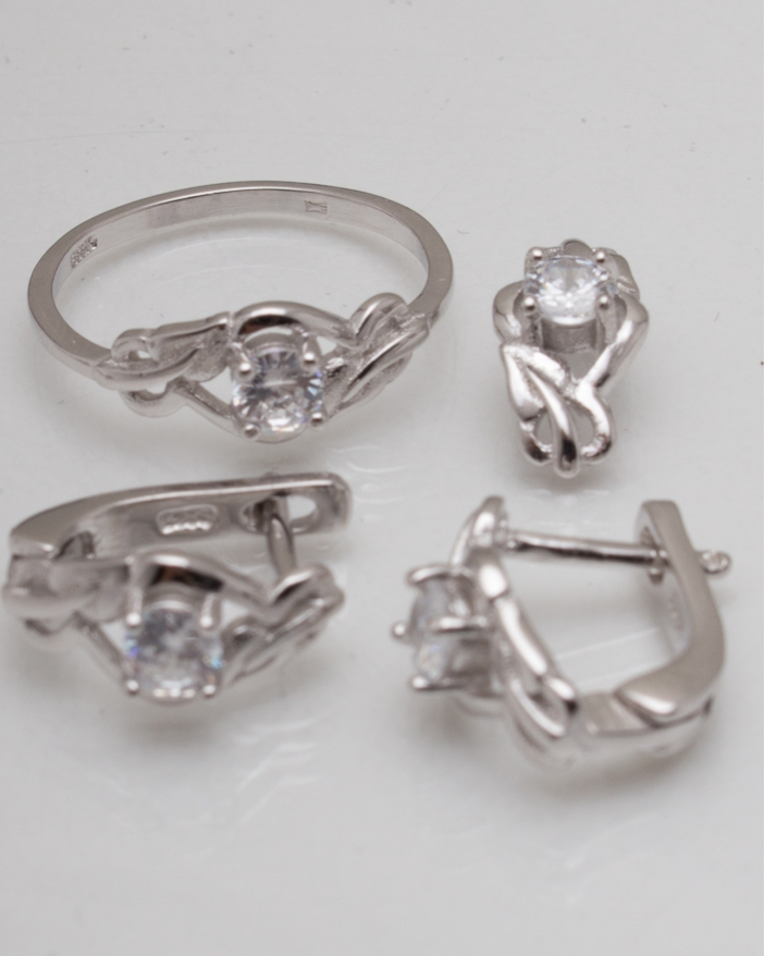 Set argint cod 3-8198, gr5.4