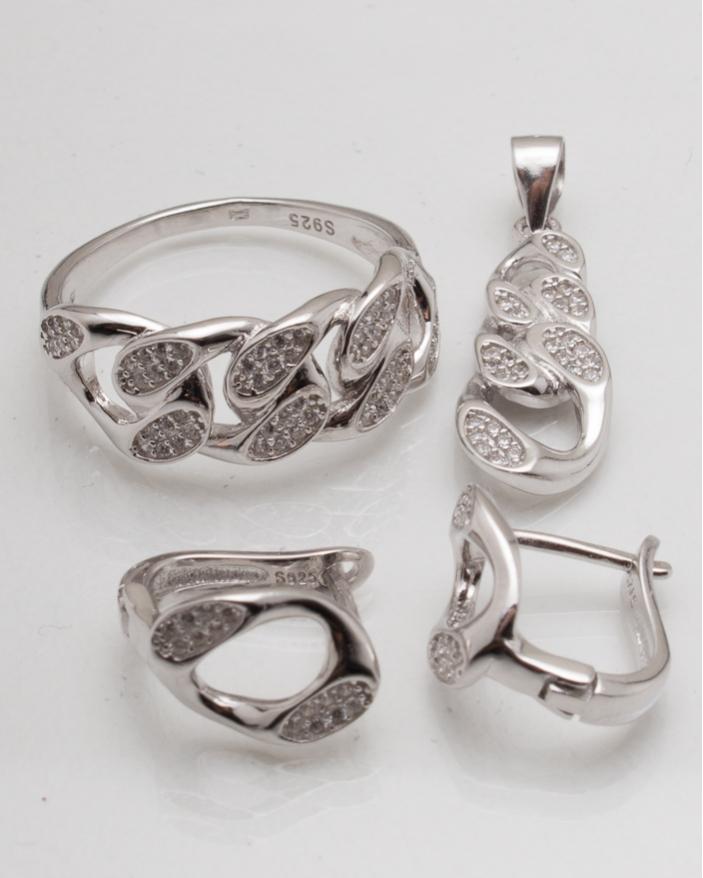 Set argint cod 3-8280, gr8.5
