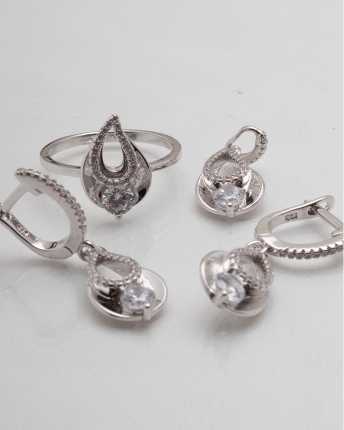 Set argint cod 3-8312, gr8.7