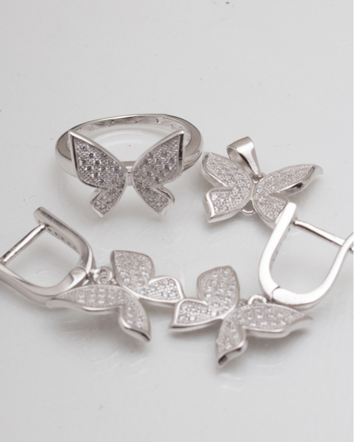 Set argint cod 3-8316, gr9.4