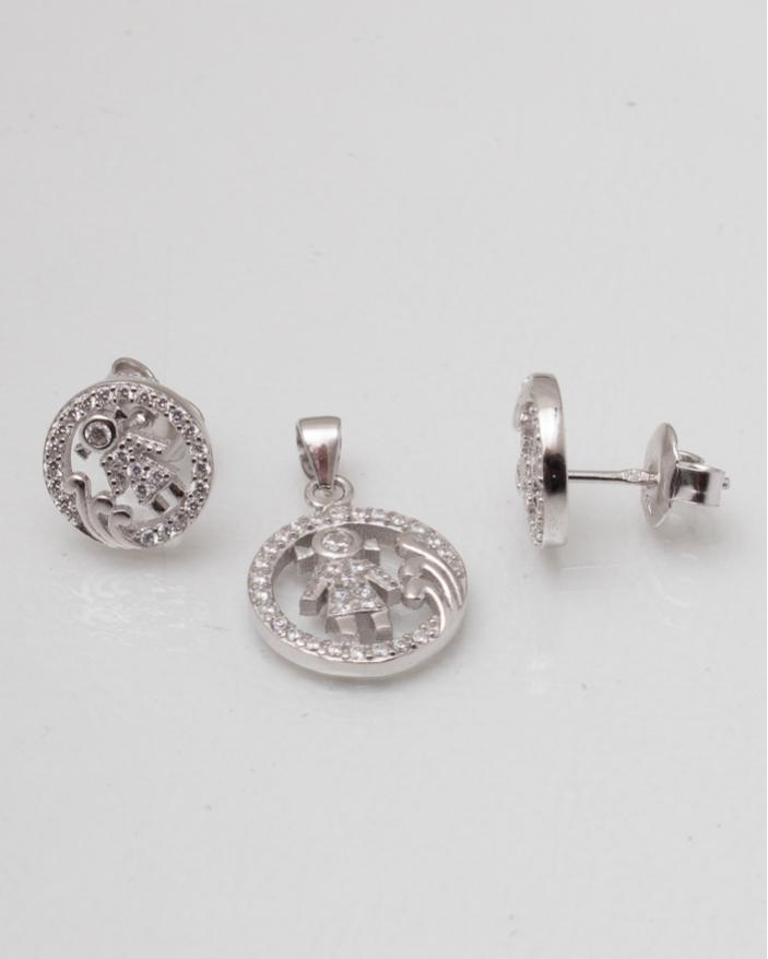 Set argint cod 3-8355, gr3.1