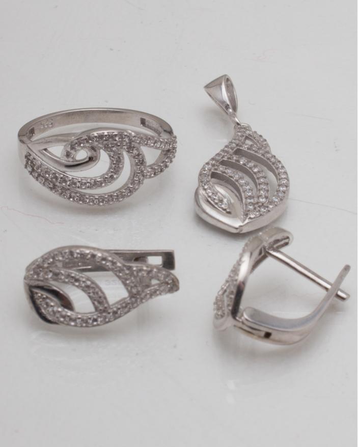 Set argint cod 3-8977, gr5.2