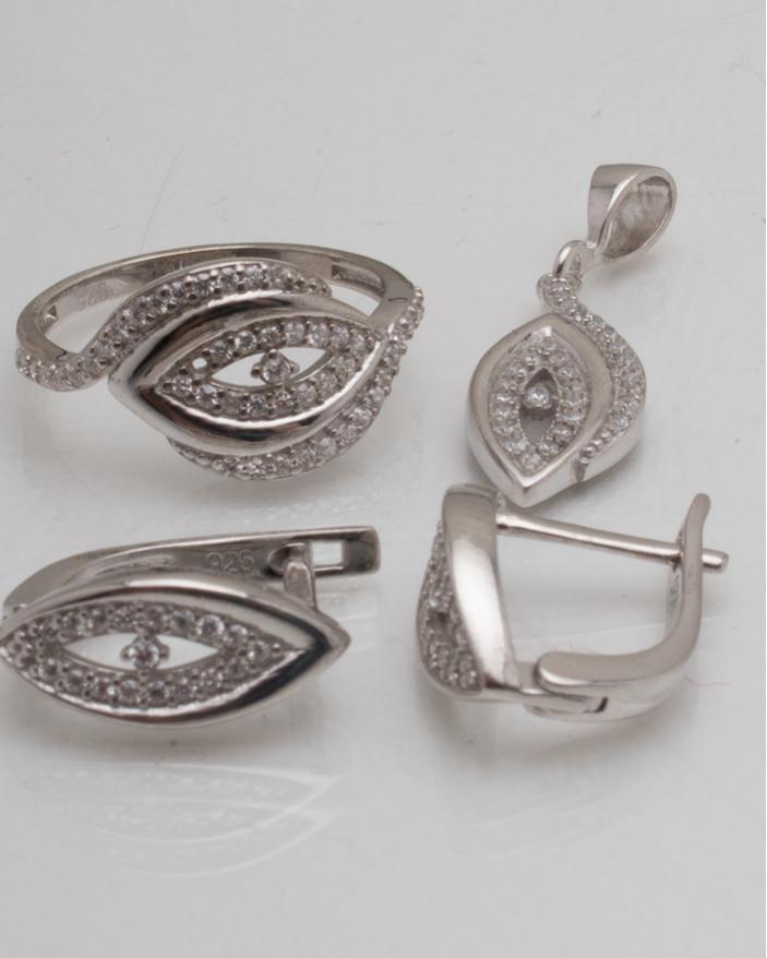 Set argint cod 3-8987, gr5.3