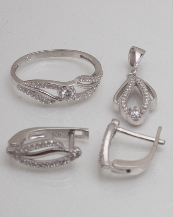 Set argint cod 3-8992, gr4.5