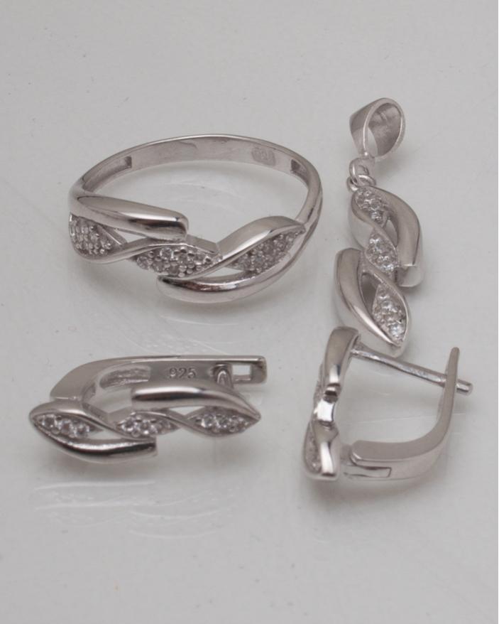 Set argint cod 3-8996, gr5.5