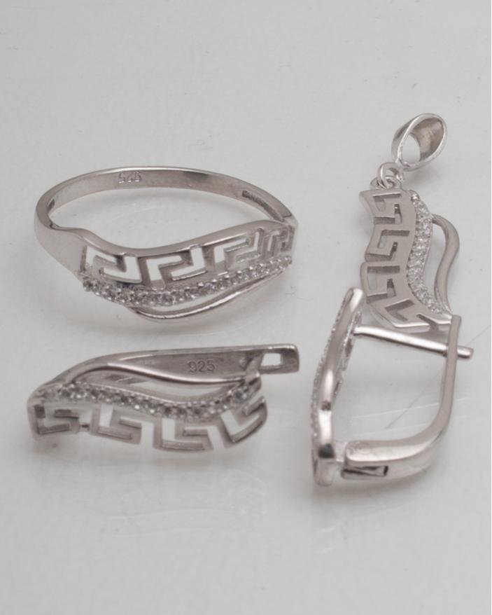 Set argint cod 3-8997, gr4.7