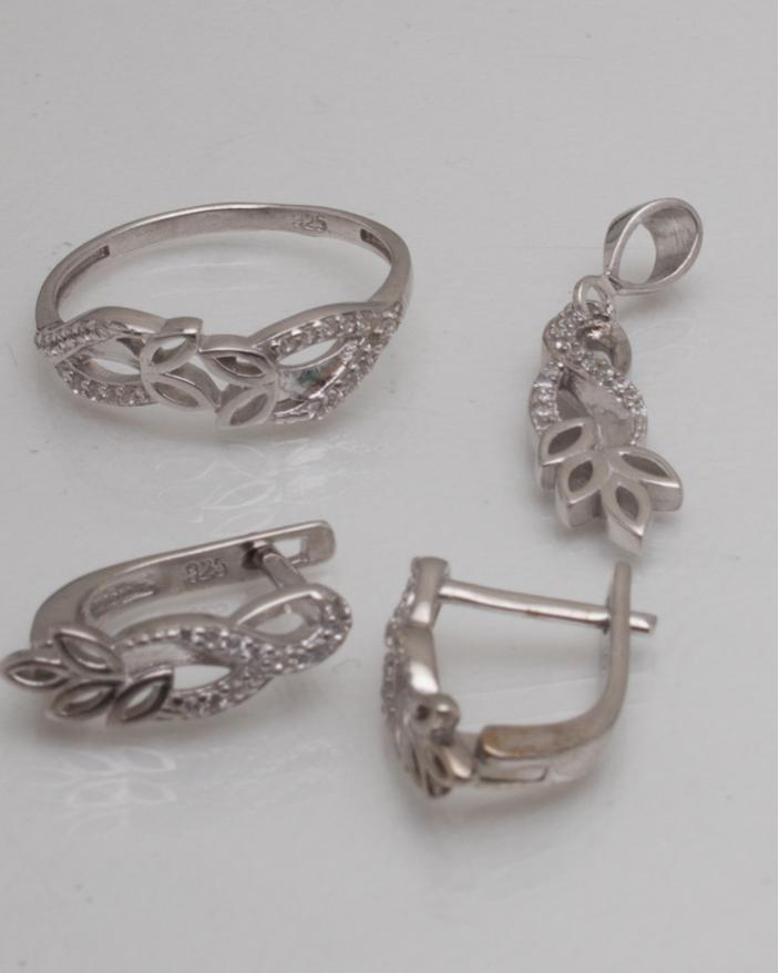 Set argint cod 3-9017, gr4.5