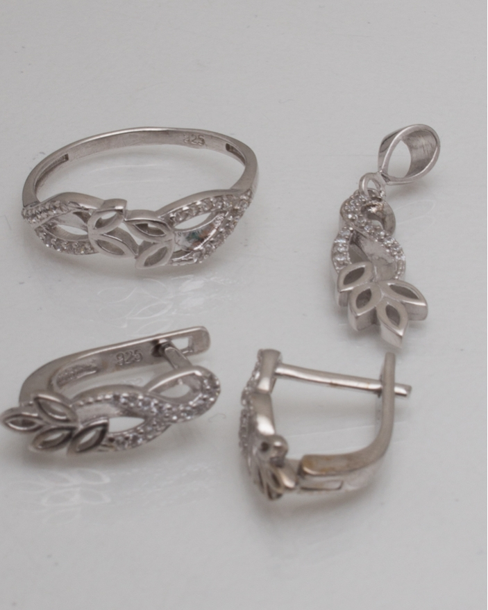 Set argint cod 3-9018, gr4.5
