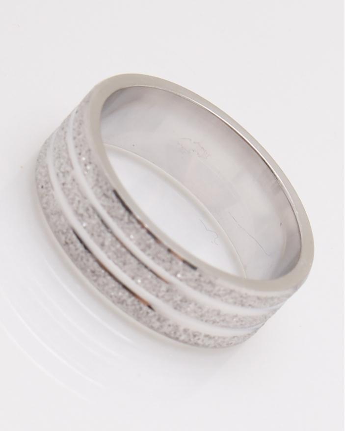 Inel argint suprafata nisipoasa cod 1-22848, gr5.5