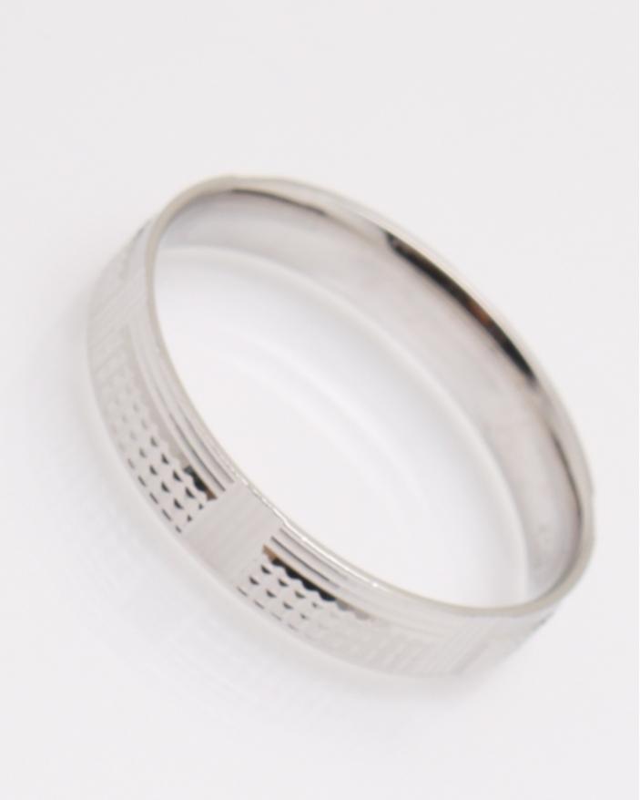 Inel argint vergheta cu model cod 1-23083, gr2.5
