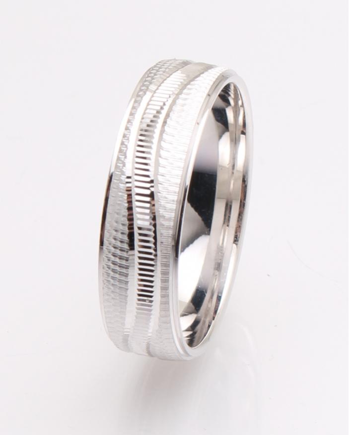 Inel argint rodiat cu model cod 1-25923, gr4.7