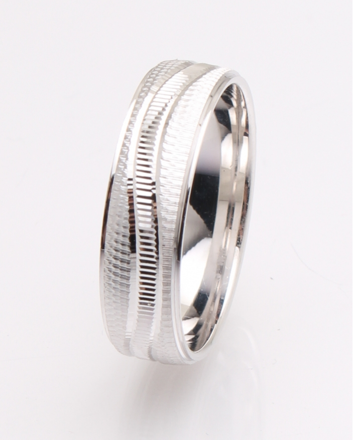 Inel argint rodiat cu model cod 1-25927, gr4.9