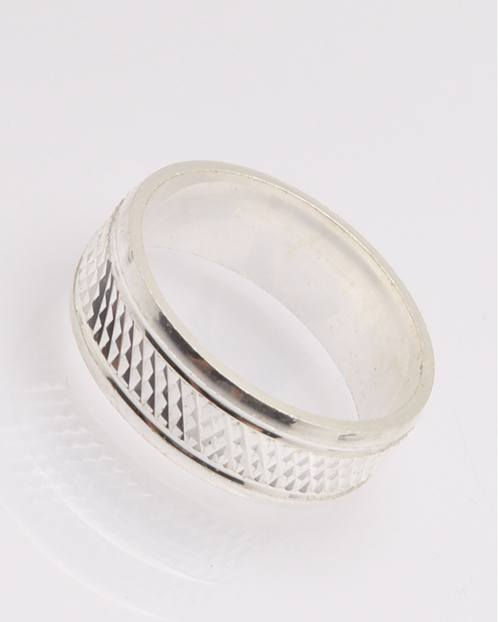 Inel argint verigheta cod 1-32107, gr3.5